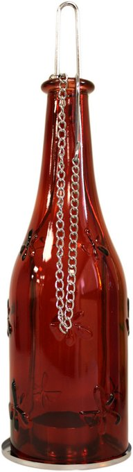 Candle Lantern - Bottle Lanterns Ruby