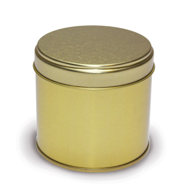 Candle tins medium travel gold for Candle painting medium