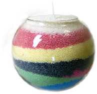 Fragranced Candle Sand