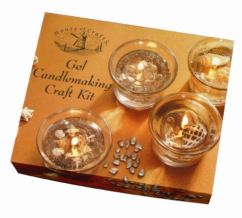 Gel Candle Making Craft Kit