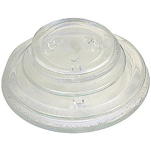 Glass Round Candle Saucers