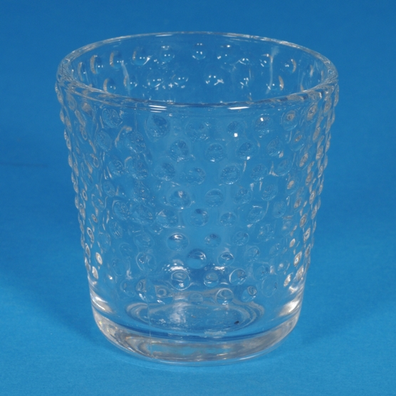 Hobnail Glass Votive Holder