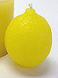 Latex Candle Mould - Lemon