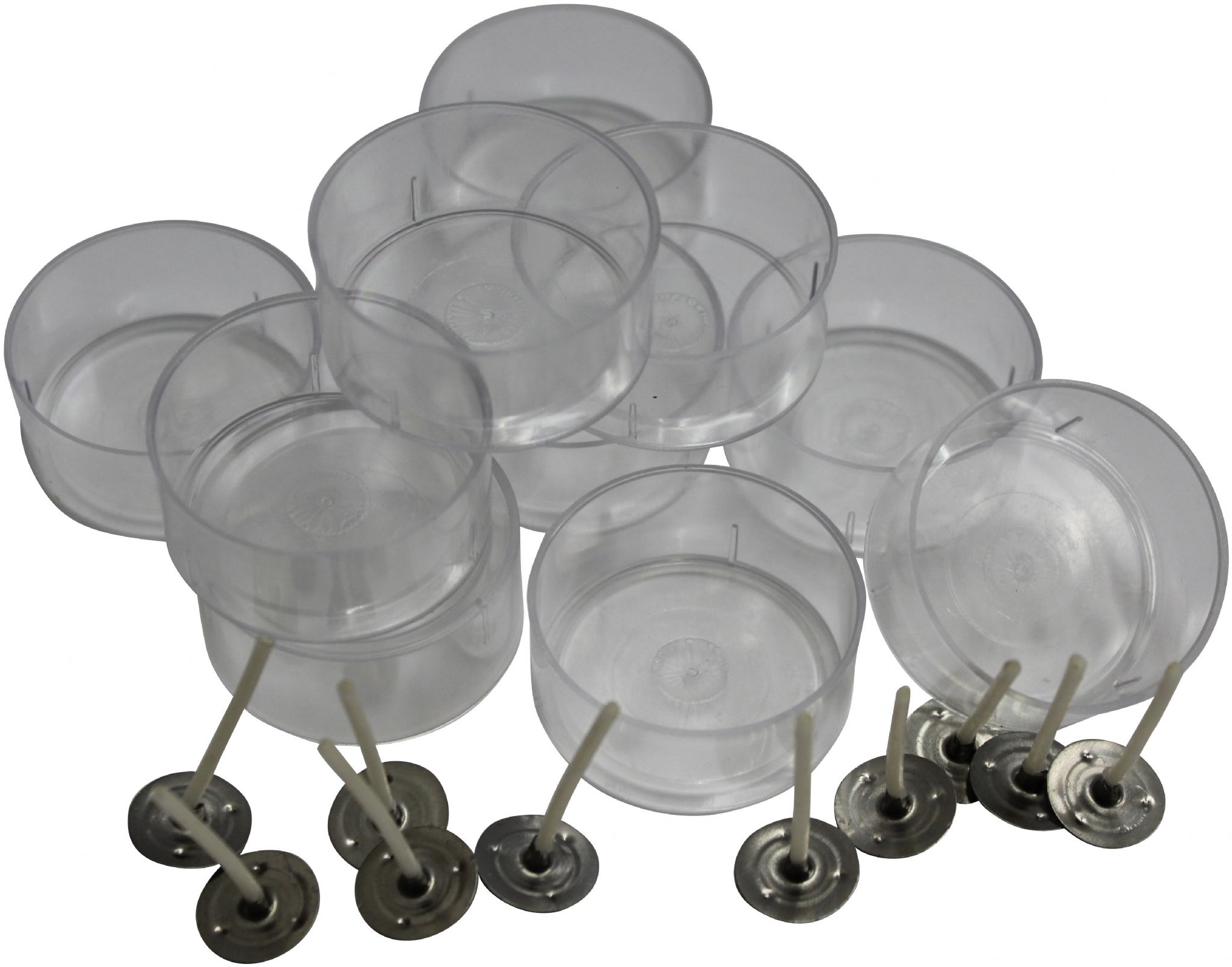 Tealight Cup Mould Clear Polycarbonate 4 Hour Cup With